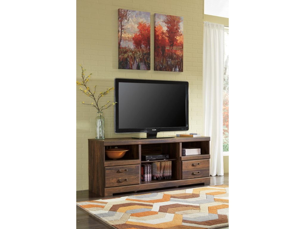 Signature Design by Ashley QuindenLarge TV Stand