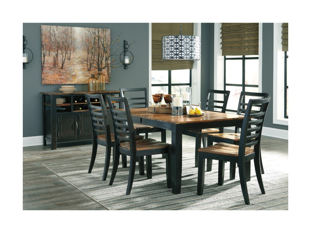 Benchcraft QuinleyCasual Dining Room Group
