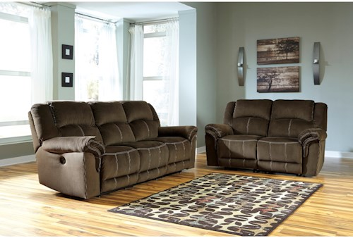 Signature Design by Ashley Quinnlyn Reclining Living Room Group