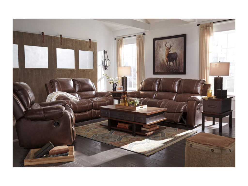 Signature Design by Ashley RackingburgPower Reclining Sofa