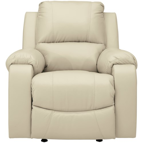 Signature Design by Ashley Rackingburg Rocker Recliner with Bustle Back