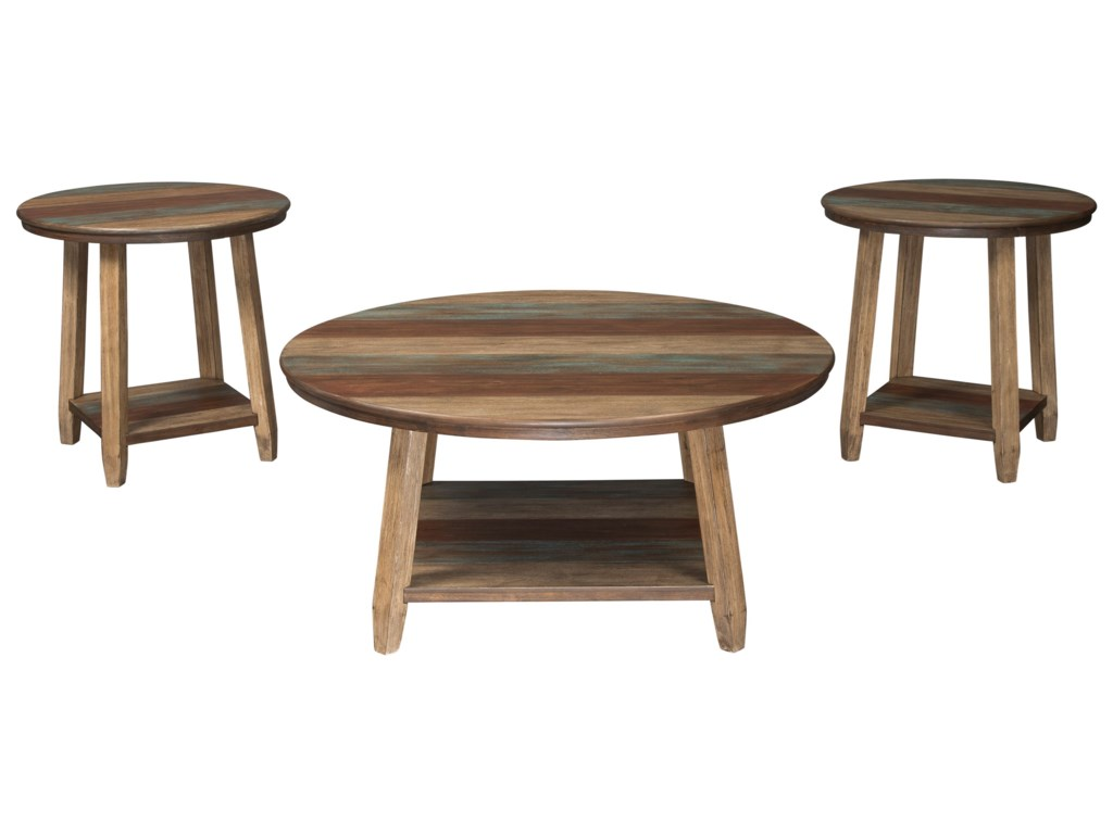 Signature Design by Ashley RaebeckiOccasional Table Set