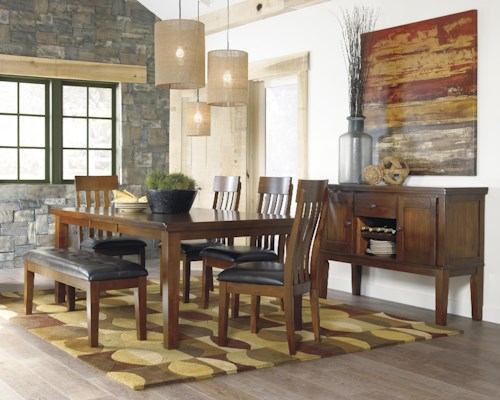 Signature Design by Ashley Ralene Casual Dining Room Group