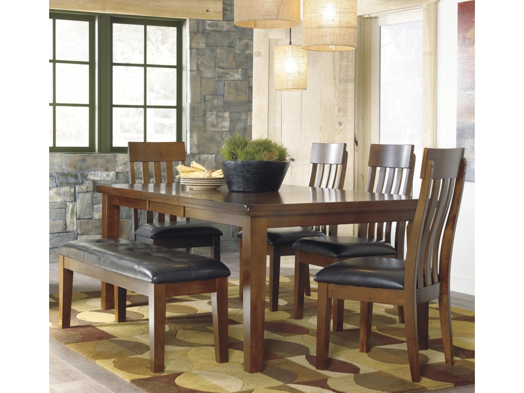 Ralene 6-Pc Dining Set with Bench