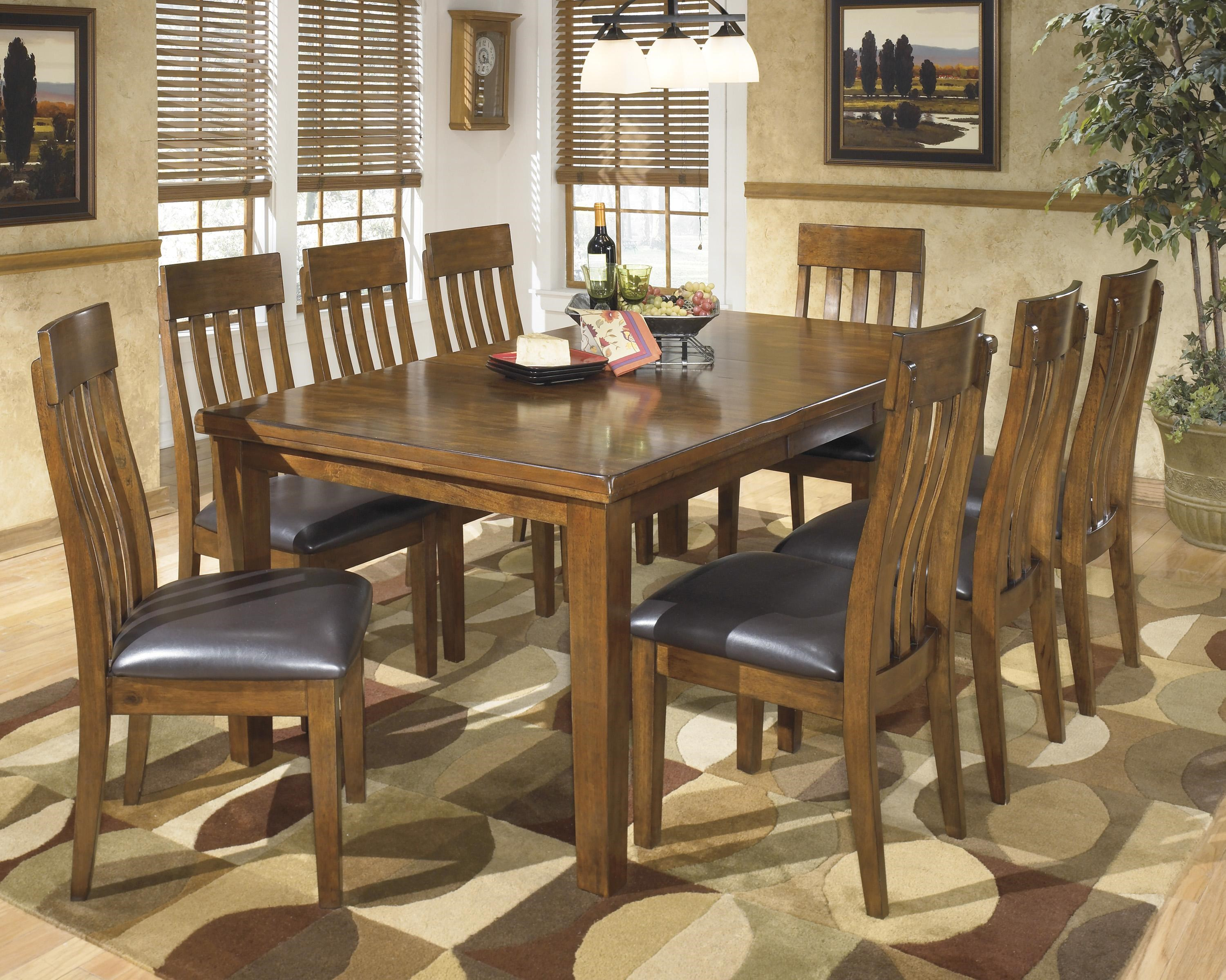 Signature Design By Ashley Ralene9 Pc Dining Set ...
