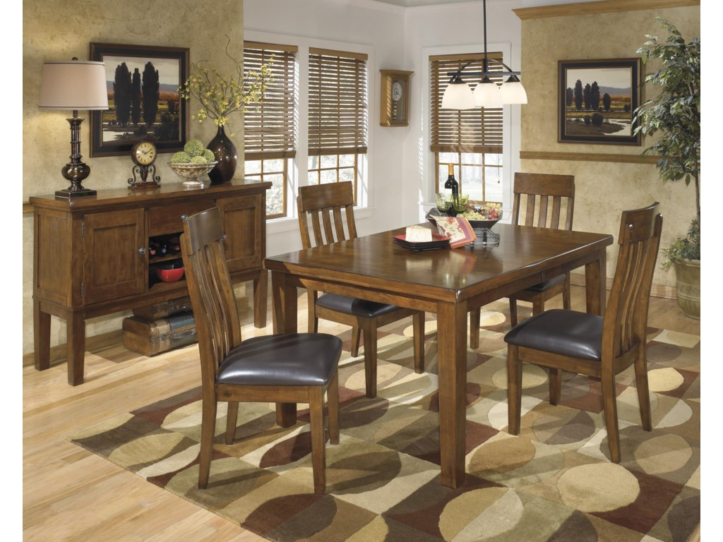 Ashley (Signature Design) RaleneRectangular Butterfly Leaf Dining Table