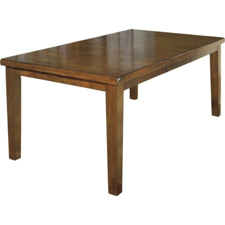 Rectangular Butterfly Leaf Dining Table