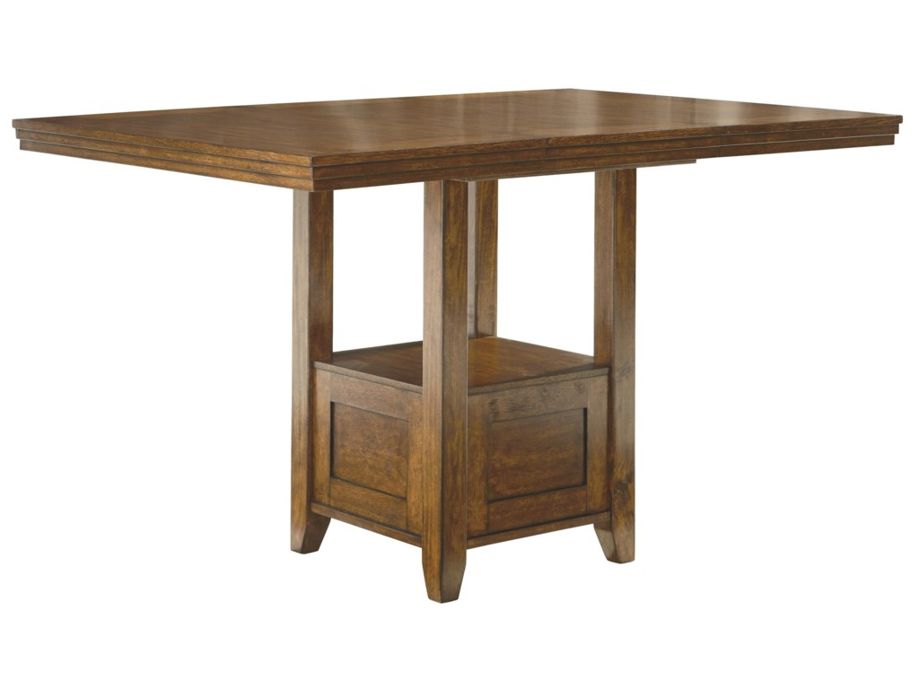 Signature Design by Ashley RaleneRectangular Dining Room Counter EXT Table