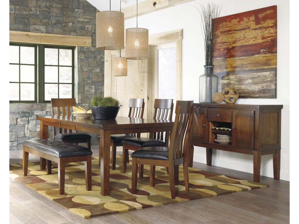 Signature Design by Ashley Ralene Casual Dining Room Server With ...