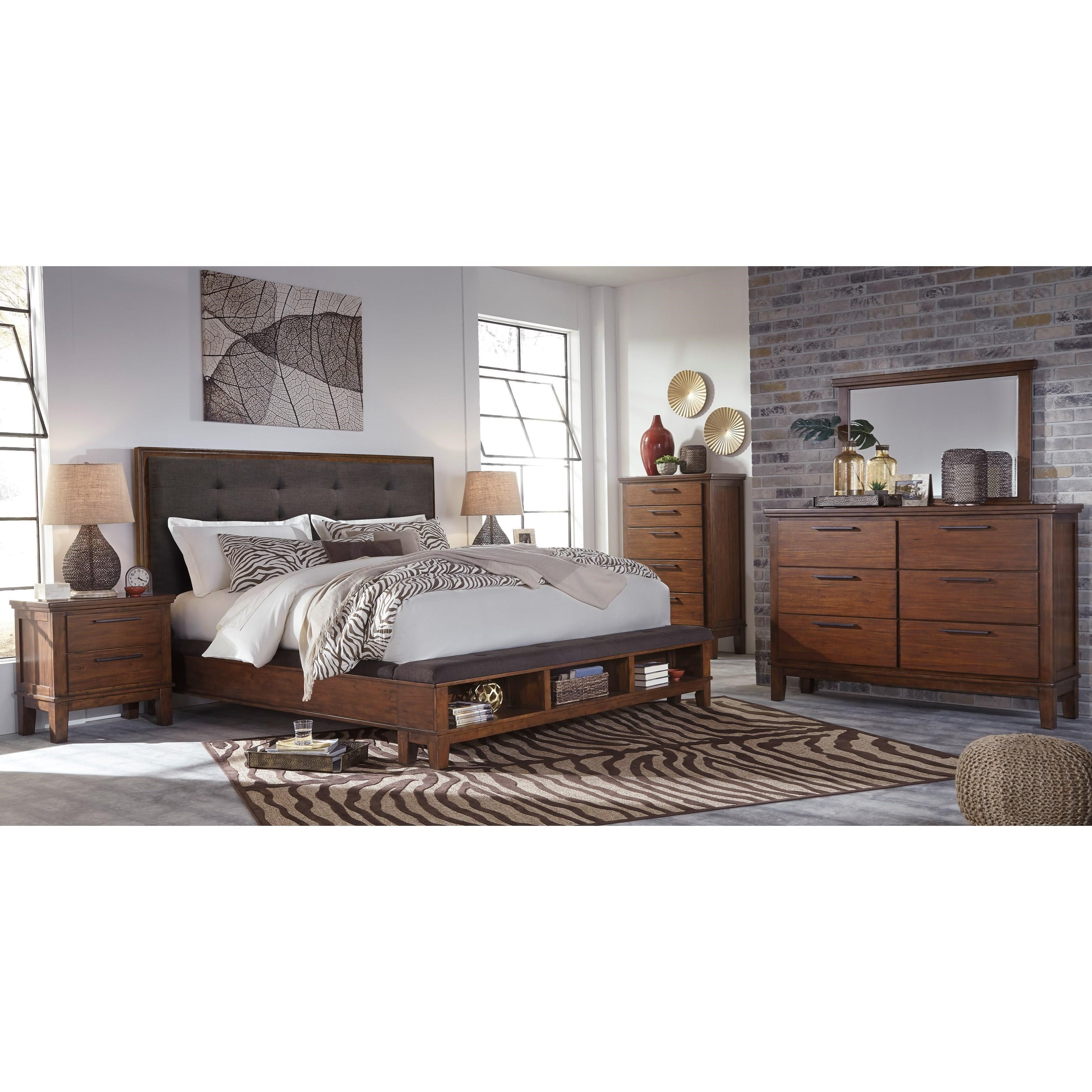 Signature Design By Ashley Ralene Queen 5 Piece Bedroom Group Royal Furniture Bedroom Groups