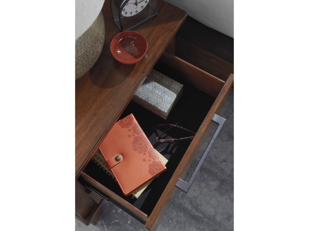Benchcraft RaleneTwo Drawer Night Stand