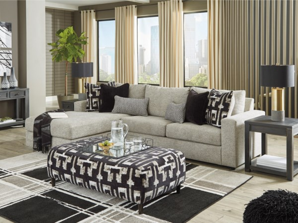 Living Room Group w/ Sofa Bed