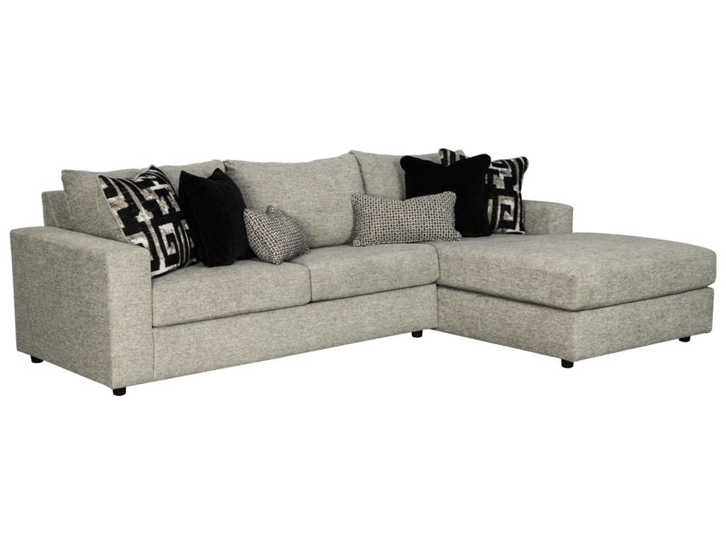Contemporary 3 Seat Sectional Sofa