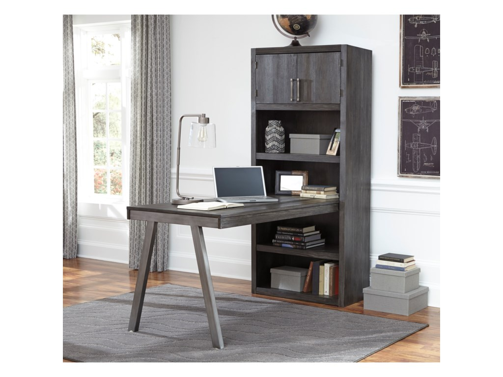 Signature Design by Ashley RaventownDesk Return & Large Bookcase