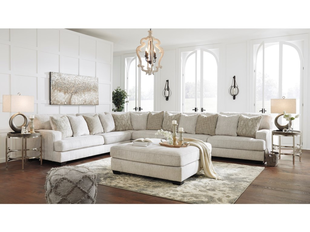 Signature Design By Ashley Rawcliffe Living Room Group Royal