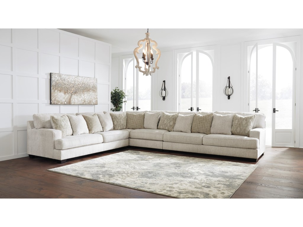 Signature Design by Ashley Rawcliffe4-Piece Sectional