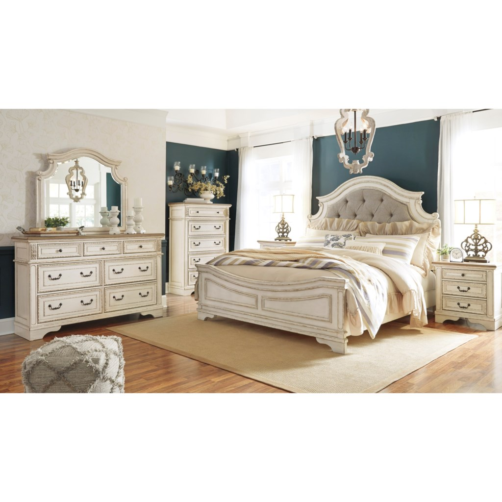 Signature Design By Ashley Realyn Queen Bedroom Group Royal