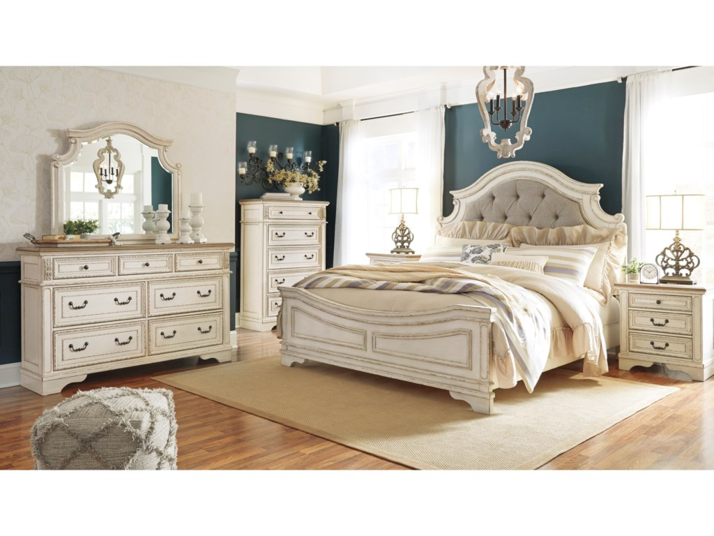 Signature Design by Ashley RealynQueen Bedroom Group