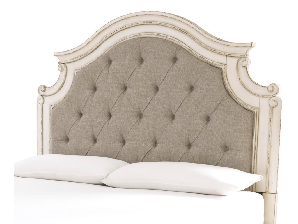 Signature Design by Ashley RealynKing/Cal King Upholstered Panel Headboard