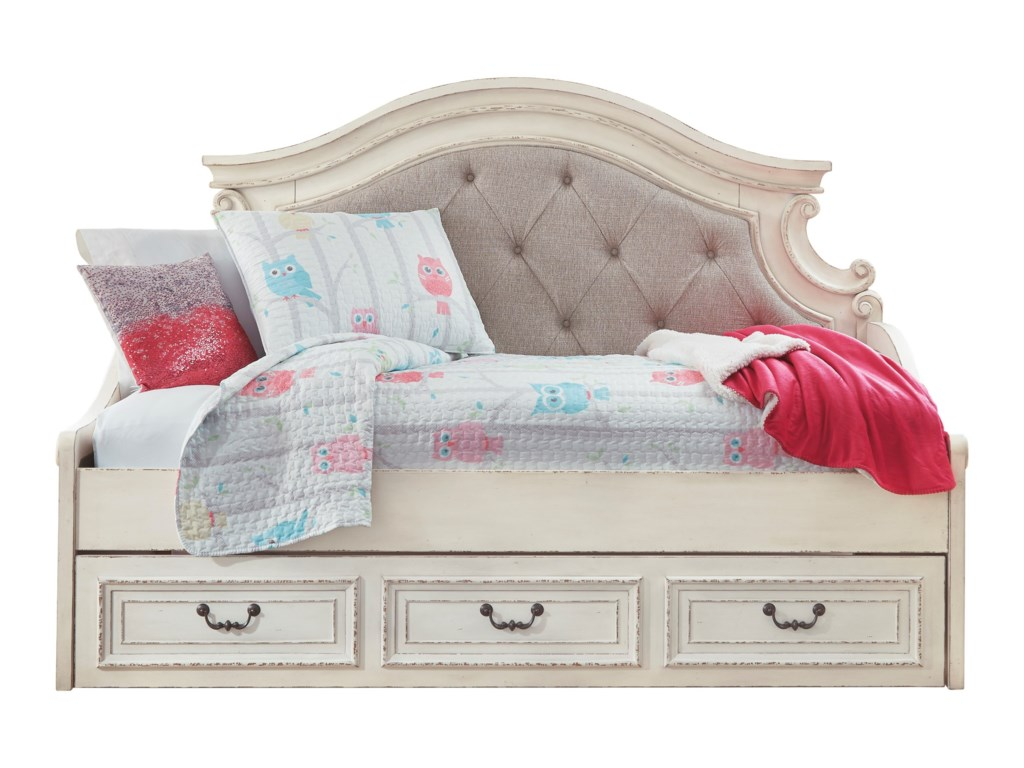 Signature Design by Ashley RealynTwin Day Bed with Under Bed Storage