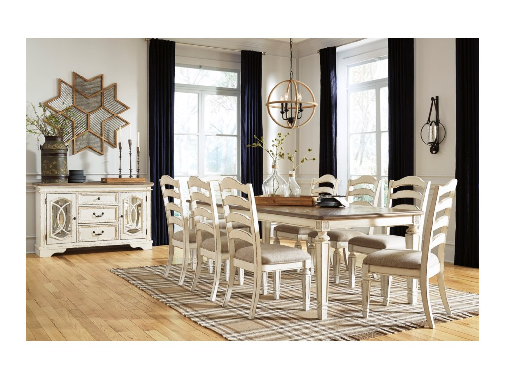 Signature Design by Ashley RealynCasual Dining Room Group