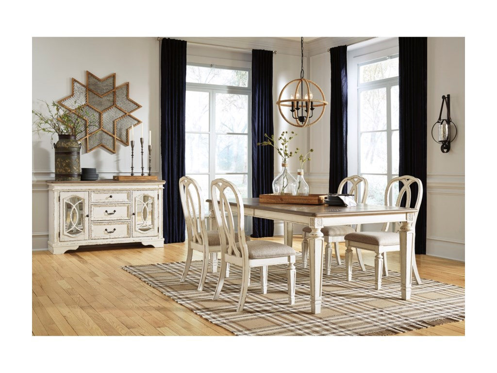 Realyn Casual Dining Room Group By Signature Design Ashley