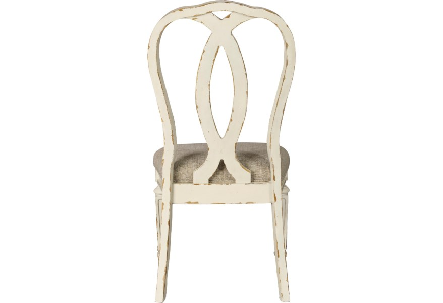 Signature Design By Ashley Realyn D743 02 Dining Upholstered Side Chair Household Furniture Dining Side Chairs