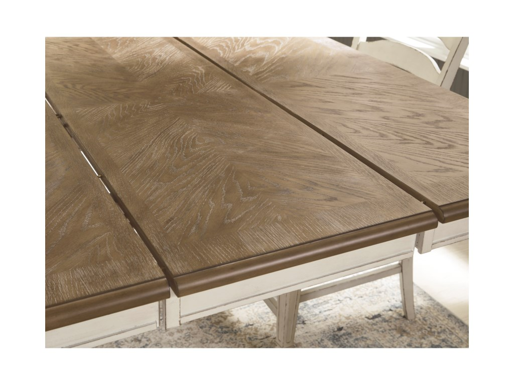 Signature Design by Ashley Realyn7-Piece Counter Extension Table Set
