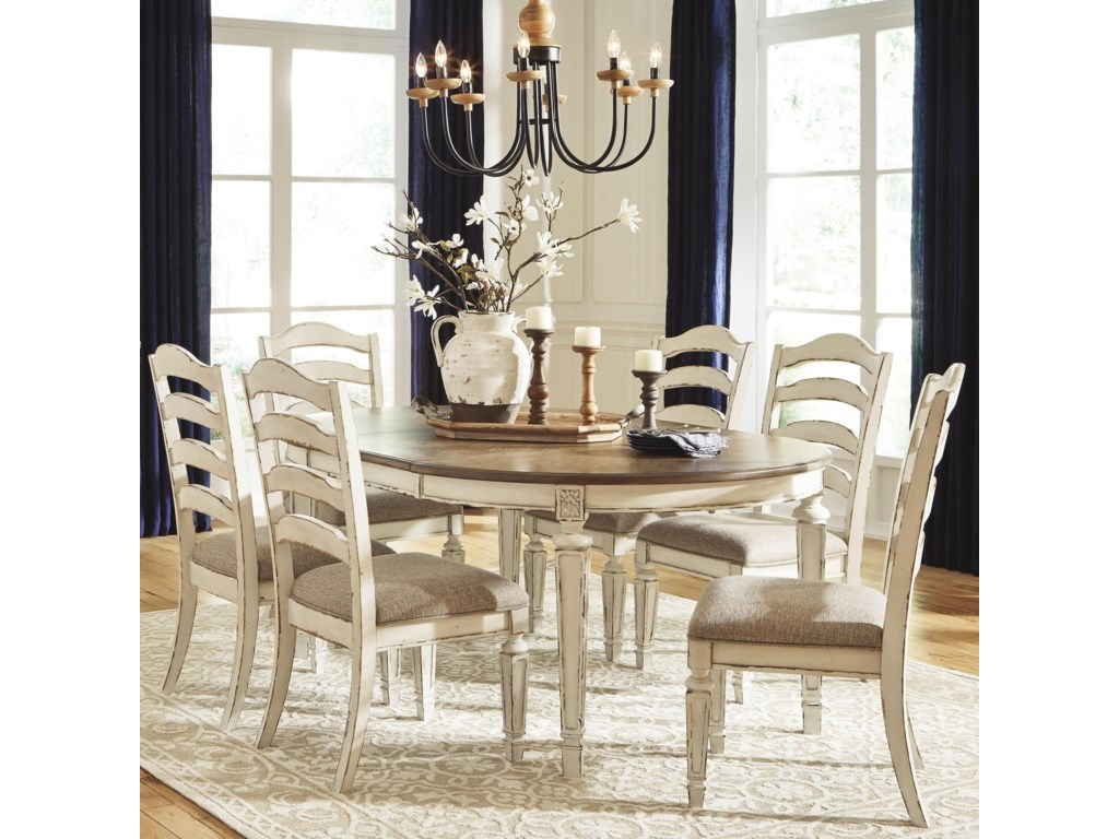 Signature Design by Ashley Claire7-Piece Table and Chair Set