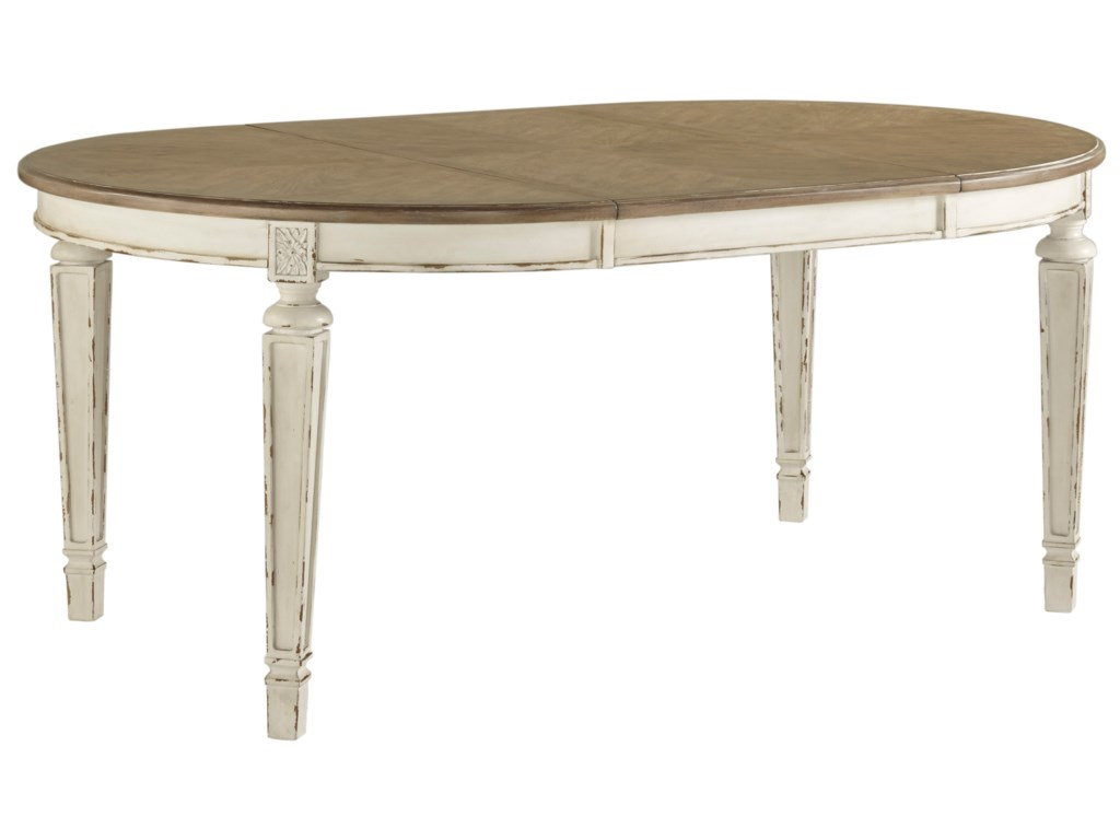 Signature Design by Ashley RealynOval Dining Room Extension Table