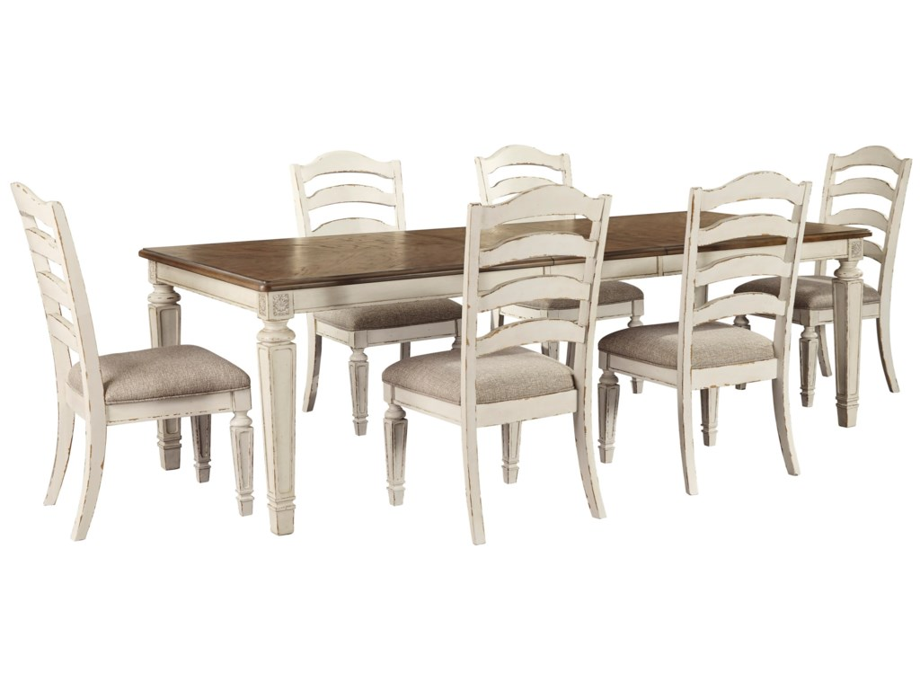 Signature Design by Ashley Claire7-Piece Rectangular Table and Chair Set