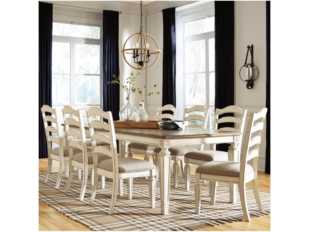 Signature Design by Ashley Claire9-Piece Rectangular Table and Chair Set