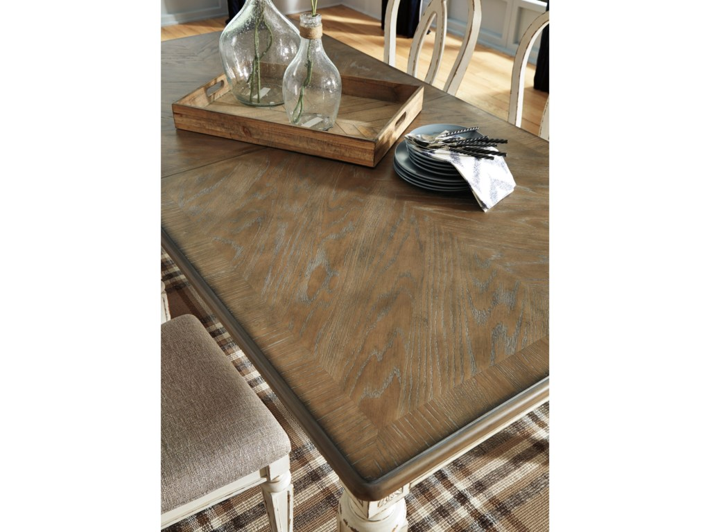 Signature Design by Ashley RealynRectangular Dining Room Extension Table