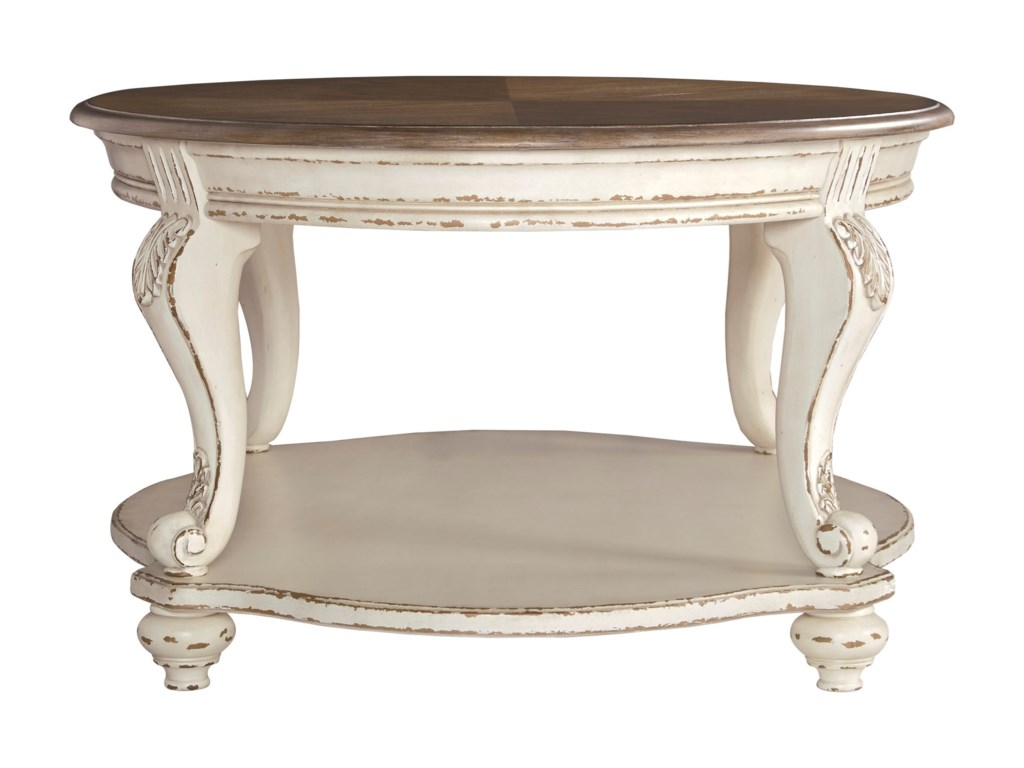 Signature Design by Ashley RealynOval Cocktail Table