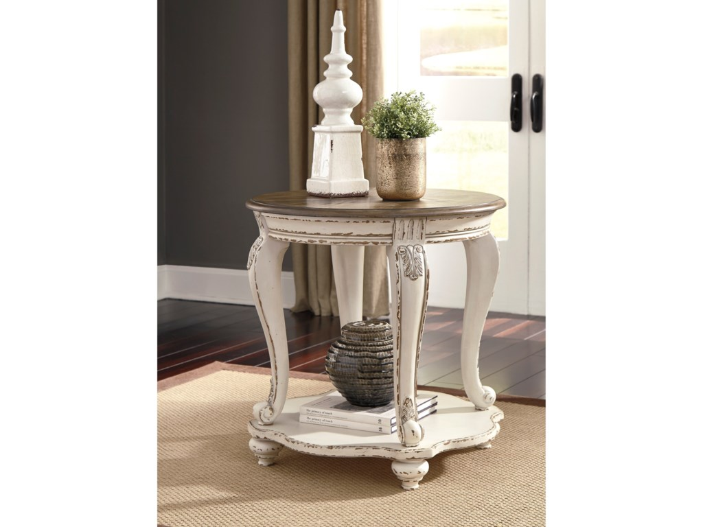 Signature Design by Ashley RealynRound End Table