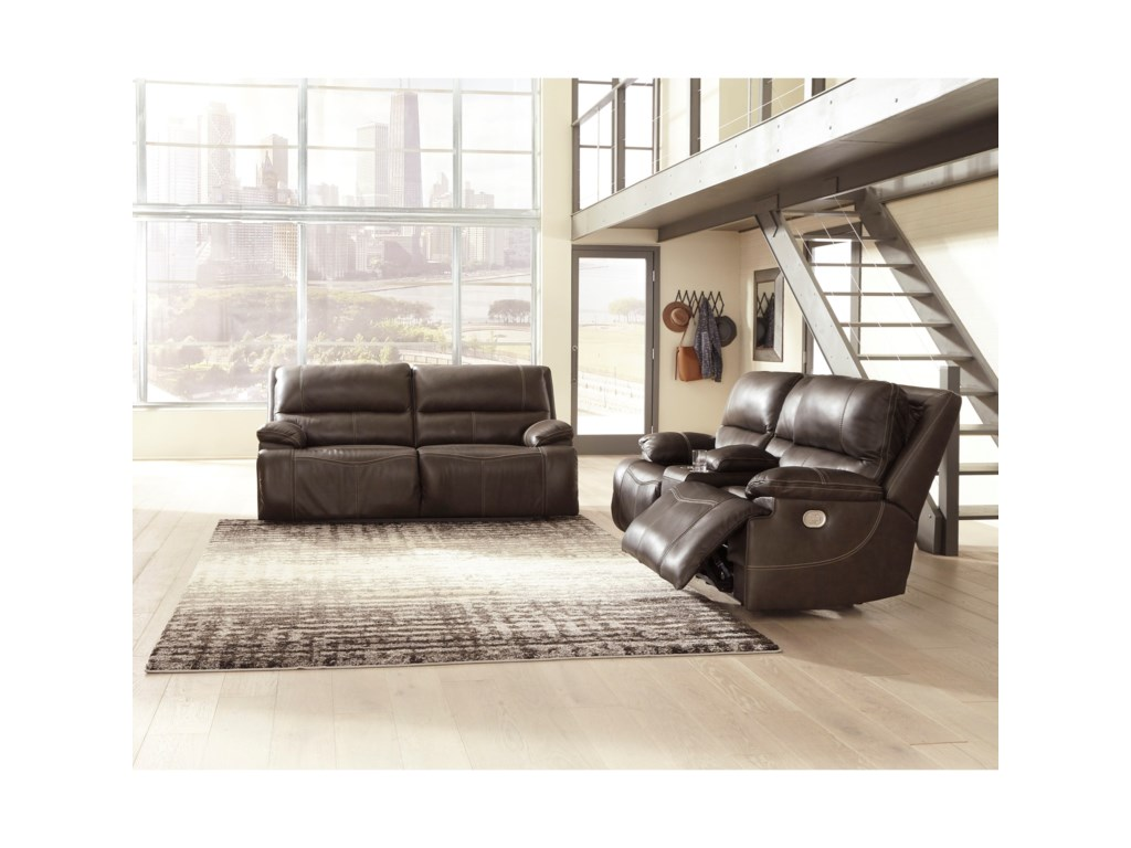 Signature Design by Ashley RicmenPower Reclining Living Room Group