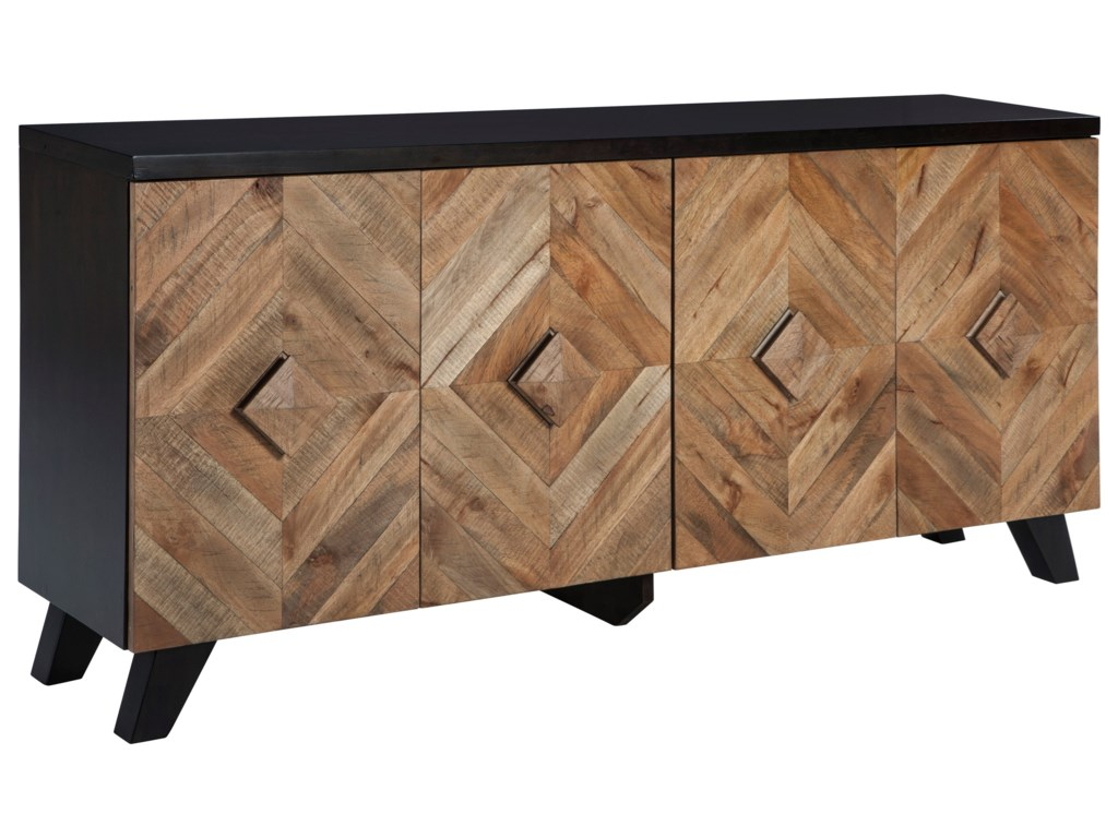 Signature Design by Ashley Robin RidgeDoor Accent Cabinet
