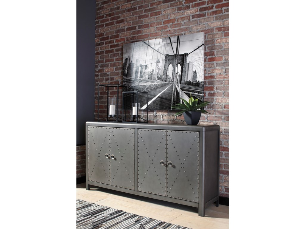 Signature Design by Ashley Rock RidgeDoor Accent Cabinet