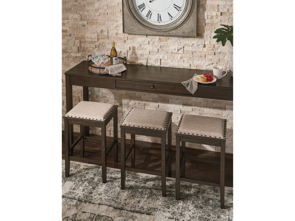 Signature Design By Ashley Rokane Counter Height Dining Set For