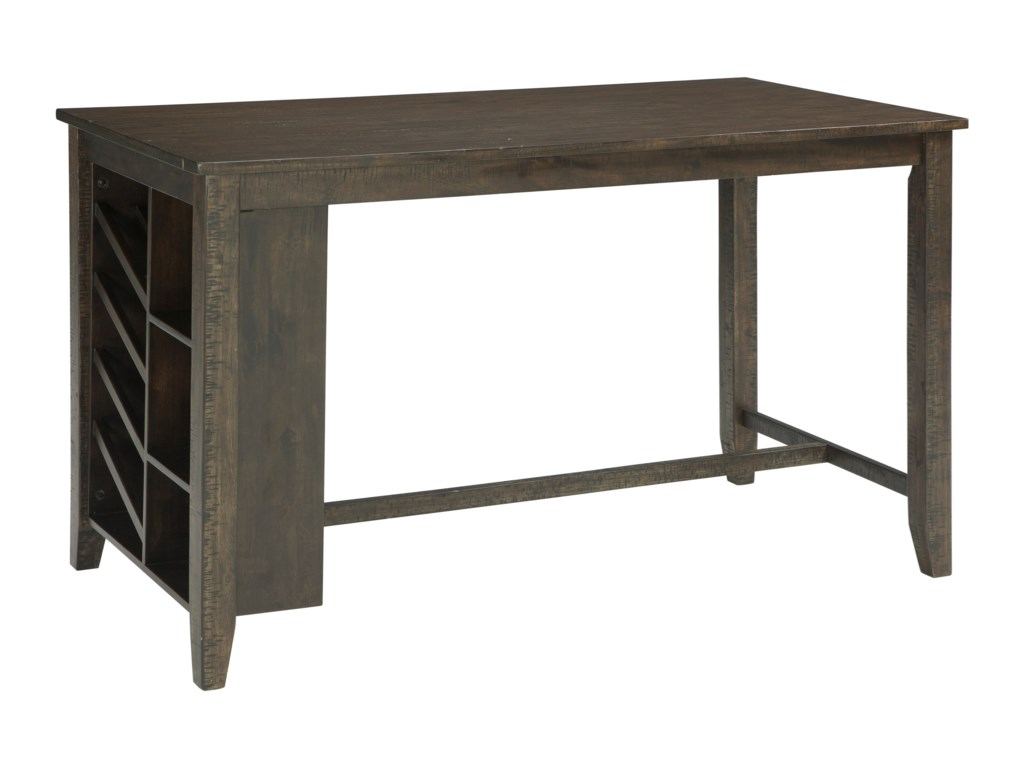 Ashley (Signature Design) RokaneRectangular Counter Table w/ Storage