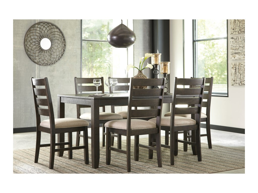 Rokane 7-Piece Dining Room Table Set