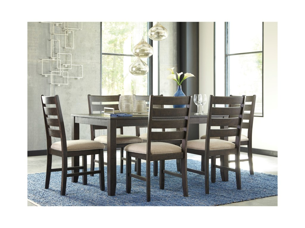 Signature Design by Ashley Rokane7-Piece Dining Room Table Set