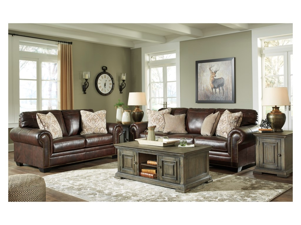 Ashley Signature Design RolesonStationary Living Room Group
