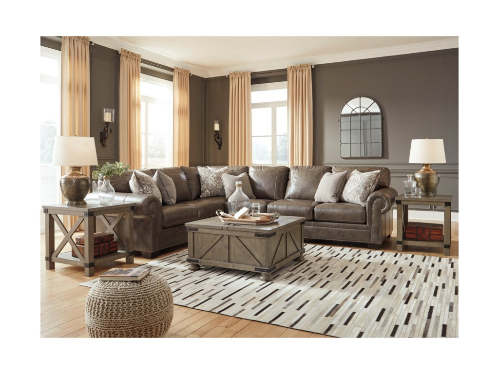 Signature Design by Ashley Roleson3-Piece Sectional