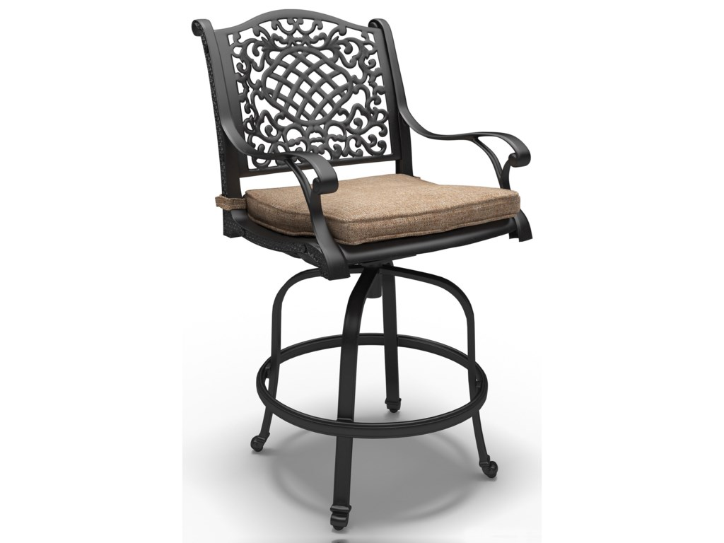Signature Design by Ashley Rose ViewBarstool with Cushion