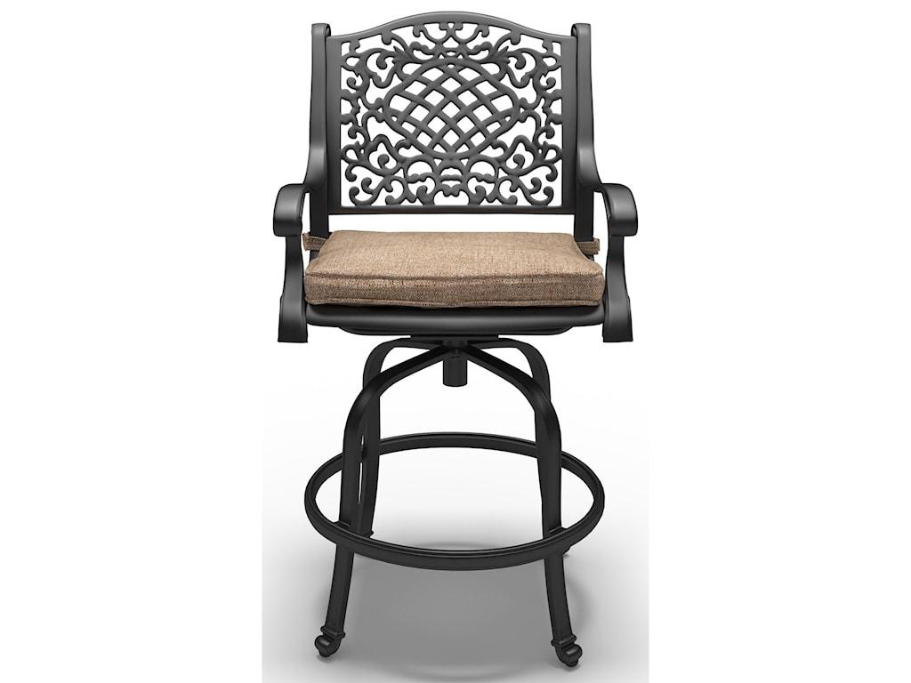 Signature Design by Ashley Rose ViewSet of 2 Barstools with Cushion