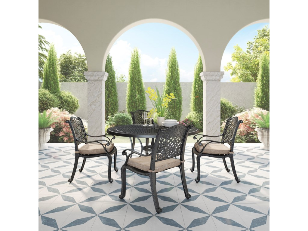 Signature Design by Ashley Rose View5 Piece Outdoor Dining Set