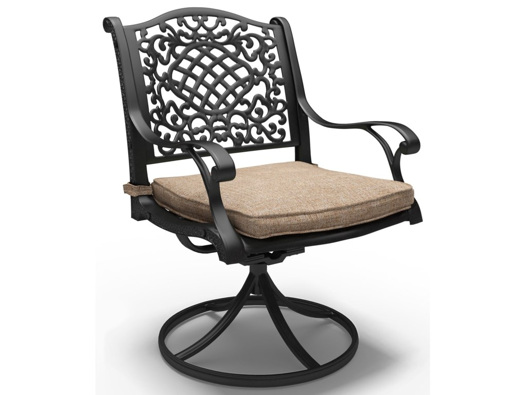 Signature Design by Ashley Rose ViewSwivel Chair with Cushion