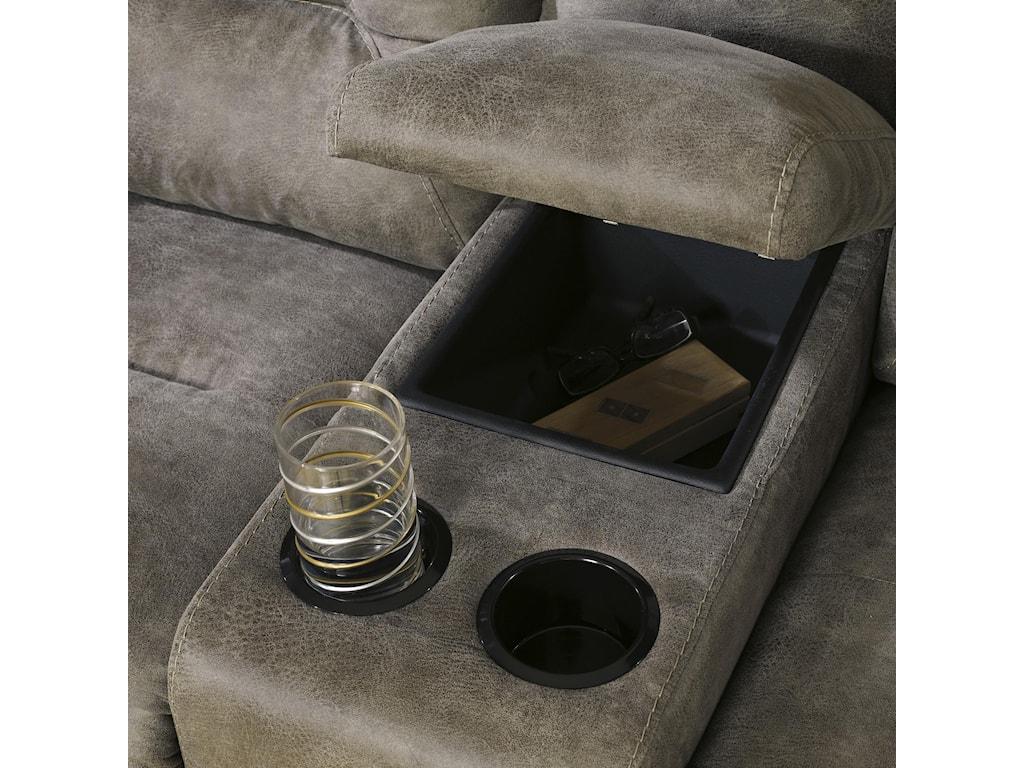 Ashley (Signature Design) Rotation - SmokeReclining Power Sofa