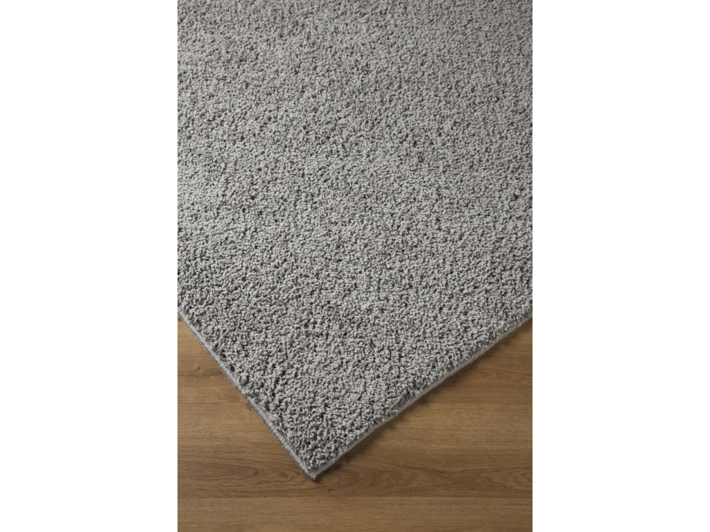 Signature Design by Ashley Contemporary Area RugsCaci Dark Gray Medium Rug